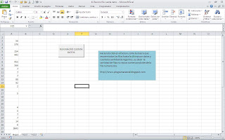 Recorrer Filas Con Macro Y Contar Celdas Con Datos Programar En Vba Macros De Excel