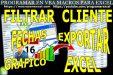 Filtrar Excel Fechas Grafico Generar Reporte Exportar Excel