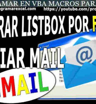 Filtrar Excel por Fechas Enviar Reporte Gmail