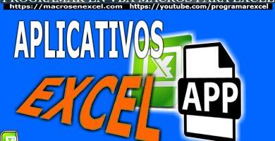 Aplicaticos en Excel