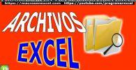 Archivos de Excel