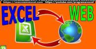Conectar Excel Con Web