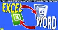 Conectar Excel Con Word