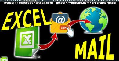 Enviar Mail con Excel