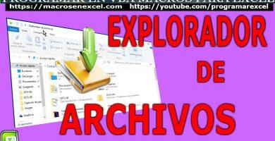 Explorador Archivos de Windows