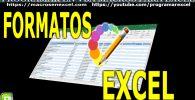 Formato de Excel