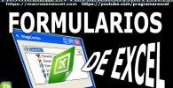 Macros con Formularios Excel
