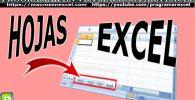 Hojas de Excel