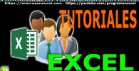 Tutoriales de Excel