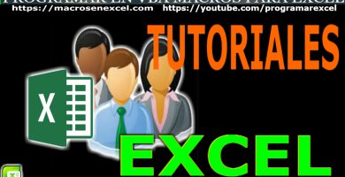 Tutoriales de Excel
