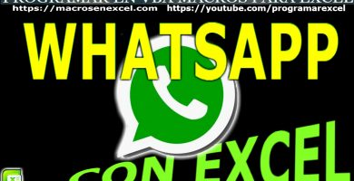 Enviar Whatsapp con Excel