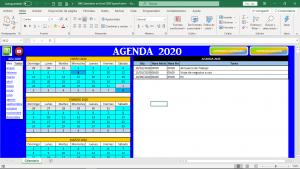 Calendario en Excel 2020