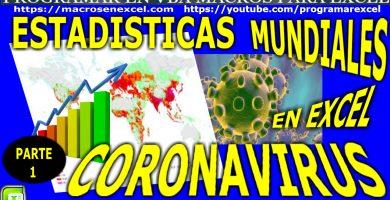 Estadisticas Mundiales Coronavirus Raspado Web