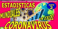 Estadisticas actualizadas coronavirus covid 19