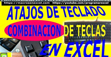 Atajos de Teclados de Excel