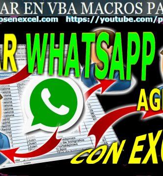 Enviar Whatsapp a contacto agendado
