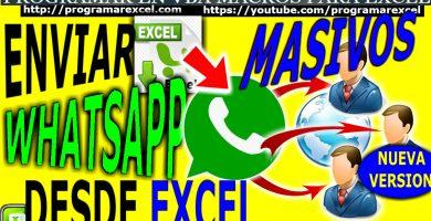 Enviar Whatsapp masivamente