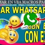 Enviar Emoji por Whatsapp desde Excel