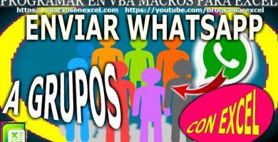Enviar Whatsapp a Grupos de Whatsapp