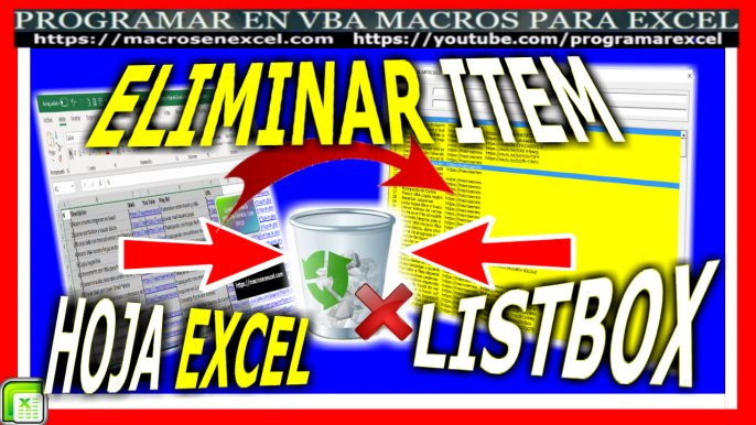 515 Como Eliminar Varios Item De Listbox Y Hoja De Excel A La Vez Con Enter