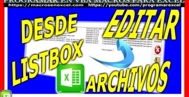 Renombrar archivos ficheros con macros