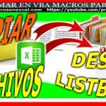Copiar archivos o ficheros con macros de excel vba