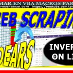 scraping web con excel