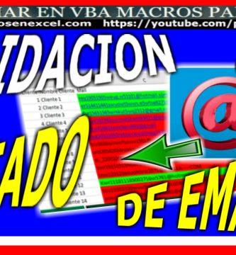 Validar listado de correos electronicos validacion mail