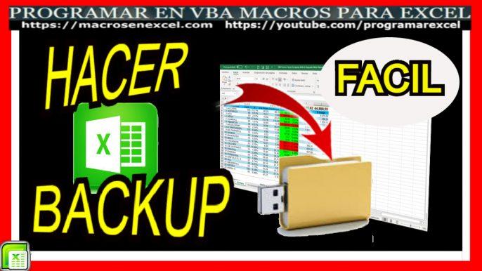 Backup en Excel