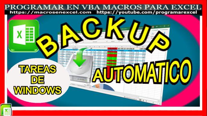 Backup automático - Tareas de Windows