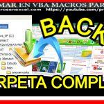 Backup Directorio con Excel VBA