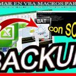 Macro ejecuta script y hace backup